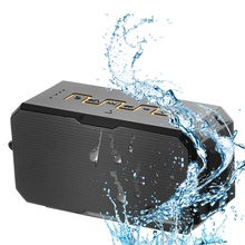 Waterproof Portable Wireless Bluetooth Speakers Power Bank D