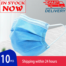 20Pcs/Pack Disposable Surgical mask 4 ly Non-woven Medical mask Face Mask Flu Hygiene as KN95 KF94 PM2.5 Face Mask Medical mask