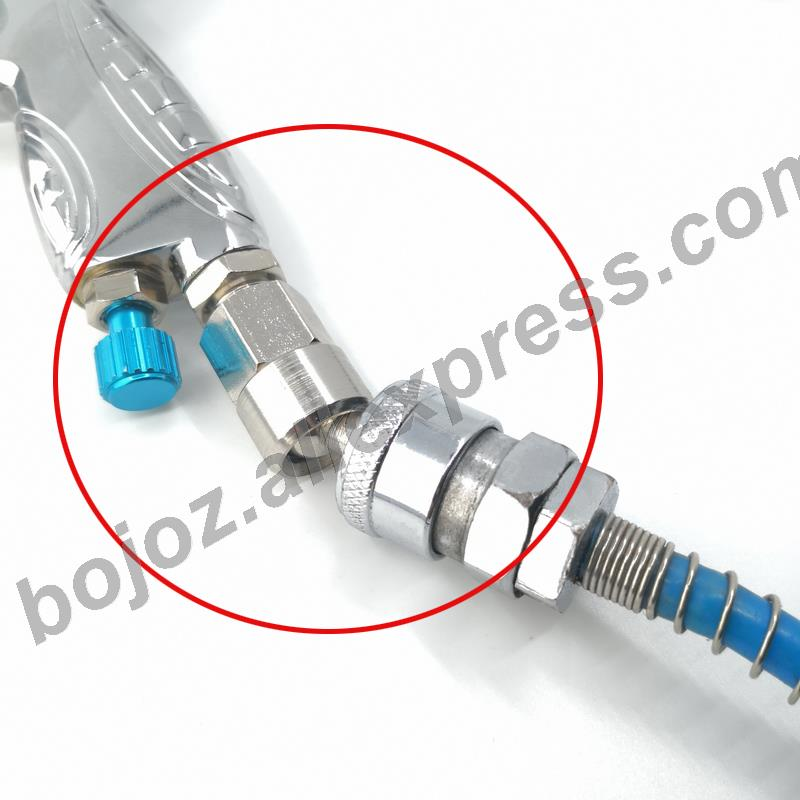1/4 Inch Pneumatic Universal Internal Thread 360 Degree Rotary Joint Japanese Quick  Joint To Spray Guns /pistol