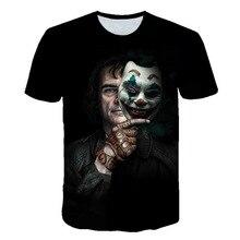 Fashion Halloween Cosplay New Promotion Summer T-Shirt Designed Joker Batman Men 3D T shirt Cool Kids Man Clothes Casual