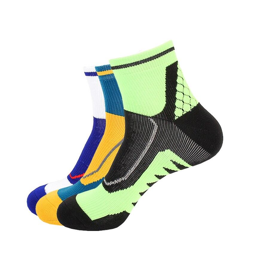 Новые высококачественные профессиональные спортивные баскетбольные носки, дышащие носки для бега, походные гоночные велосипедные носки
