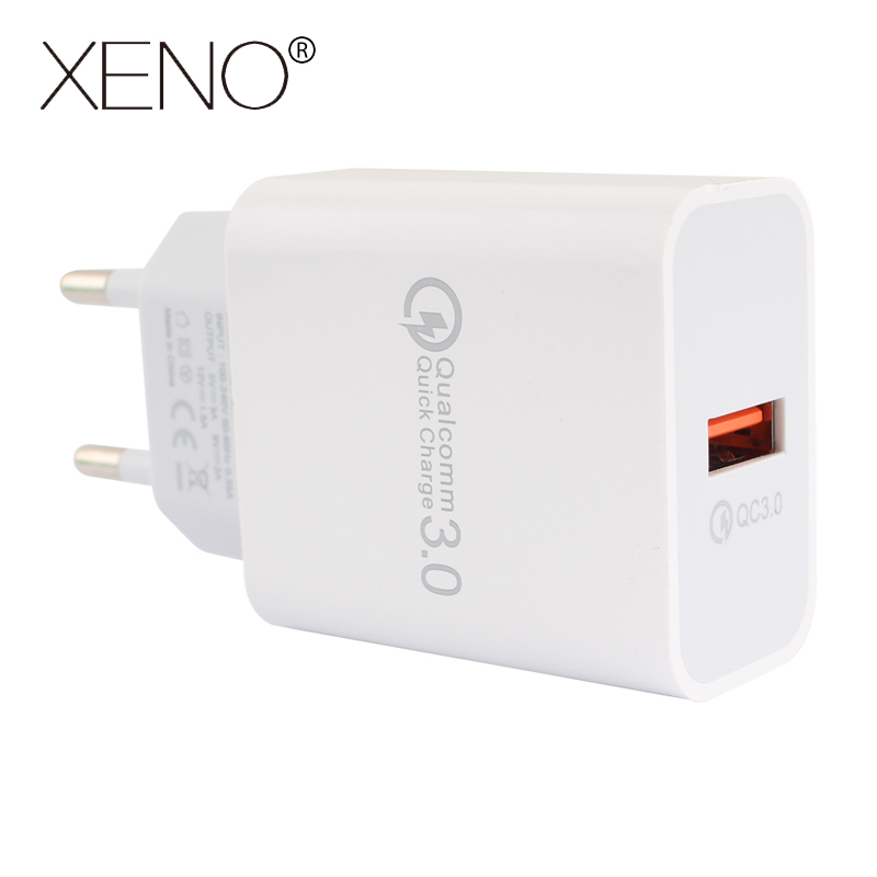5V 3A EU Plug USB Fast Charger For iPhone Quick Charge 3 0 Mobile Phone Wall Charger For Samsung Xiaomi QC3 0 Travel Charging in Mobile Phone Chargers from Cellphones Telecommunications