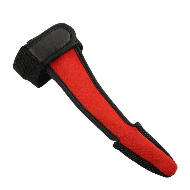 Nouvellement protecteur gants ligne de coulée lancer canne à pêche dédié respirant antidérapant unique doigt gants