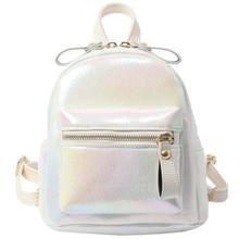New Women Mini Backpack Fashion pu Backpacks for Teenagers Girl Small Female School Backpack Cute Shoulder Bag цена