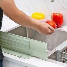 Кухонный разбрызгиватель экраны раковина Телескопический водяной барьер брызгозащищенный бытовой водяной барьер Кухонные гаджеты ZA