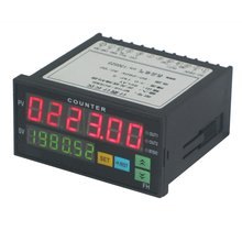 Multi-functional Digital Counter Length Meter Intelligent Dual 6 Digits LED Display AC/DC Preset Electronic Length Counter
