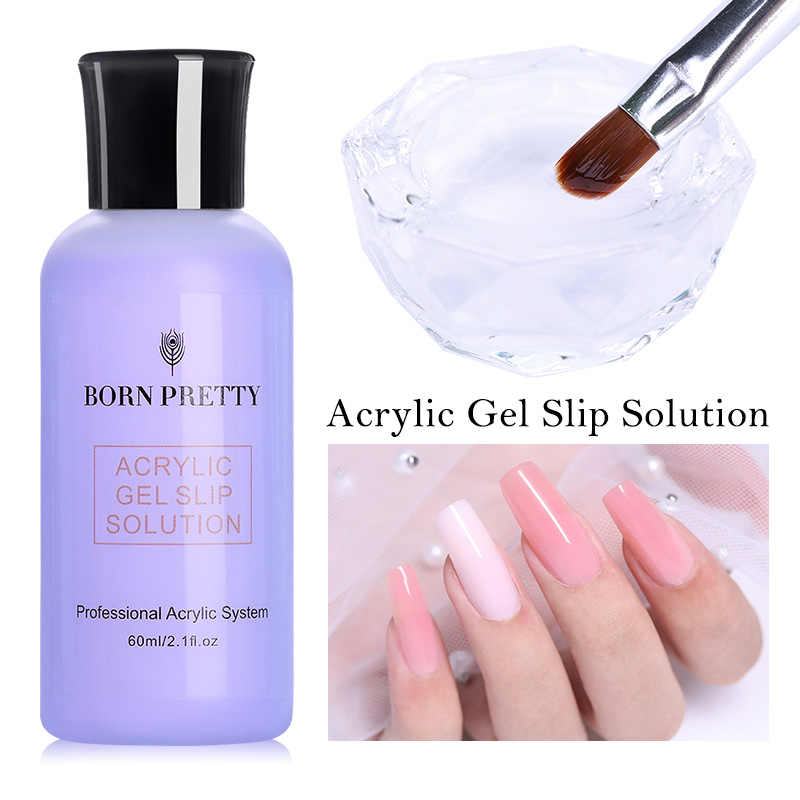 Geboren Pretty 60 Ml Nagel Anti Oplossing Gel Polish Quick Building Uv Gel Poly Extension Gel Acryl Vernis Nail Art tool