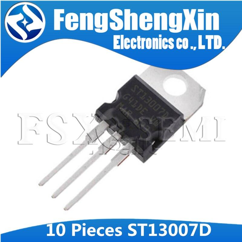 100/% New Original ST13007D 13007D Transistor TO220