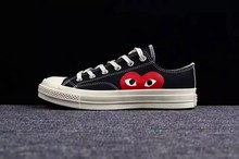 Converse-chaussures originales, all star Chuck 70 Taylor pour hommes et femmes, paniers à bâtons, chaussures de patinage