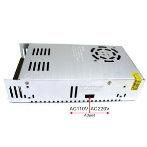 Image 5 - אחת פלט 12V 24V 36V 48V 500W ספק כוח שנאי 110V 220V AC כדי DC מקור כוח נהג עבור Led אור CCTV צעד
