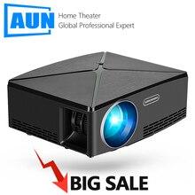 מכירה גדולה. HD מקרן C80, מיני מקרן 3D. קולנוע ביתי. C80UP אנדרואיד WIFI Bluetooth HDMI וידאו Beamer עבור 4K 1080P