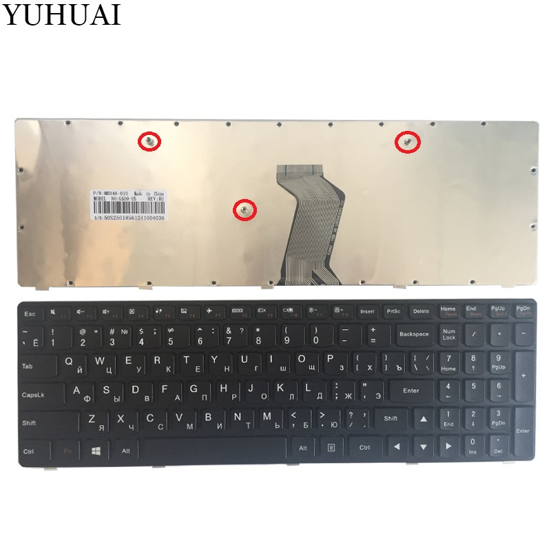 NEW Russian laptop Keyboard FOR <font><b>LENOVO</b></font> <font><b>G500</b></font> G510 G505 G700 G710 G500A G700A G710A G505A RU keyboard (NOT FIT G500S) image