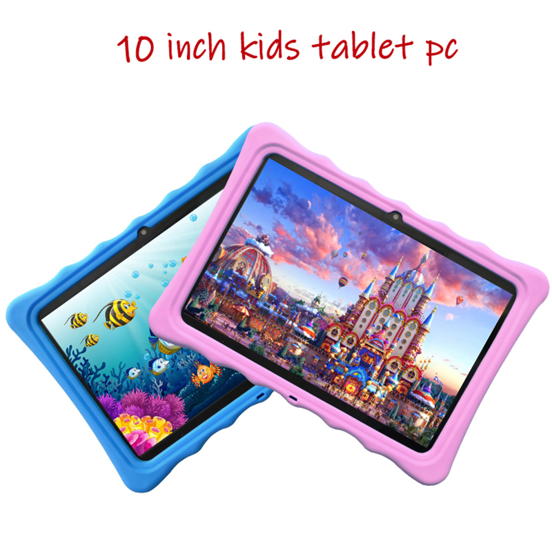10'' Kids Tablet GPS Dual Sim Cards Market Bluetooth Wifi Call 3g-Phone Google IPS Screen Android 10inch Tablet Pc