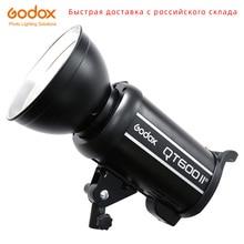 Godox QT600II QT600 II 600WS GN76 1/8000s lumière stroboscopique Flash haute vitesse avec système sans fil 2.4G intégré