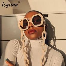 Irregular square Sunglasses Ladies oversized 2020 Luxury bra