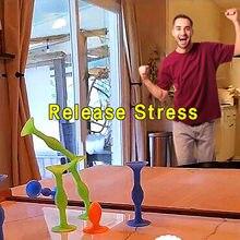 Pop jogo de dardos otário dardos trickshot stickit conjunto popdarts tablegame acessórios ao ar livre indoor stress reliver brinquedo popdartsgame