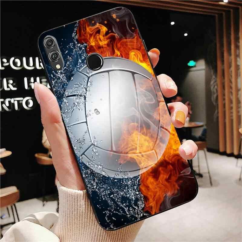 Yinuoda Bóng Chuyền Điện Thoại Ốp Lưng Huawei Mate 30 Pro P20 P30 P40 Pro Lite Y7 Y6 2019 Dành Cho danh Dự 8X 8A 10 20Lite 10i