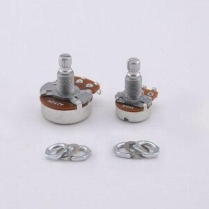 【Сделано в корей】 потенциометр Alpha (горшок) для электрогитары/бас A250K/B250K/A500K/B500K