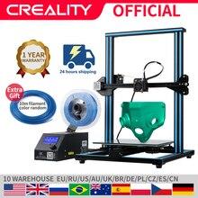 CREALITY 3D CR 10/CR 10S Printer Large Printing Size 300*300*400mm Semi DIY 3D Printer Kit Aluminum Heated bed Free Filament