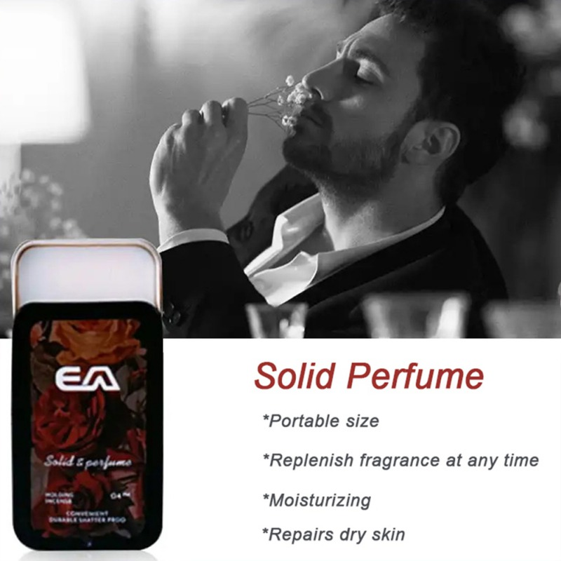 Solid Perdume Men Fragrances Women Portable Case Perfume Staying  attactive Long time Aroma Deodorant Fragrance 4