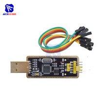 Diymore FTDI FT232BL FT232 USB 2.0 כדי TTL 5V 3.3V עם מגשר כבל להורדה סידורי מתאם מודול עבור arduino Suport Win10