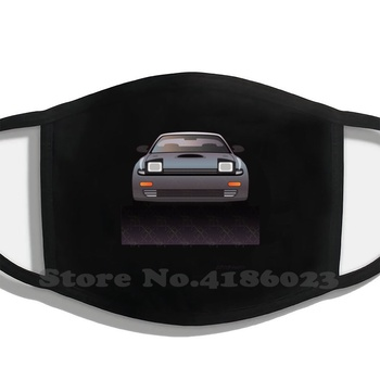 Modern Japanese Icons Series Toyota Celica Gt-Four All-Trac Turbo St185 Half Face For Men Women Ladies Diy Mouth Masks Car image