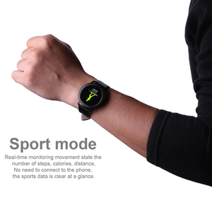 Image 4 - RUNDOING CF18 ผู้ชายสมาร์ทนาฬิกากันน้ำ IP67 ความดันโลหิต Tracker แฟชั่นผู้ชายกีฬาหลายโหมดกีฬา SmartWatch ผู้หญิง BAND