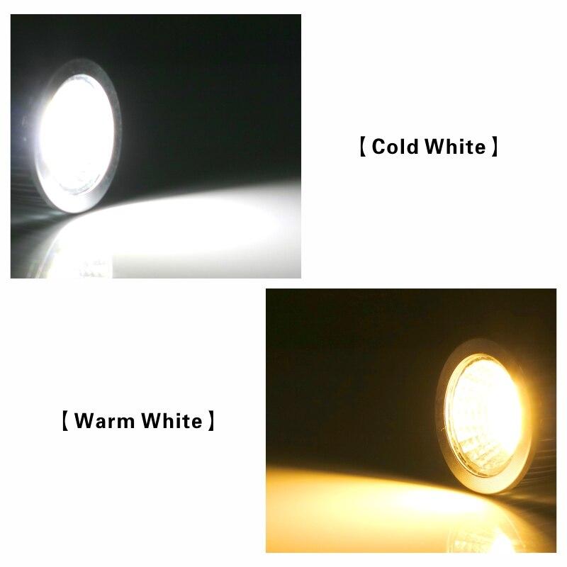 Купить с кэшбэком COB led spotlight 3W 5W 7W 10W led lights E27 E14 GU10 GU5.3 220V MR16 Cob led bulb Warm White Cold White lampada led lamp
