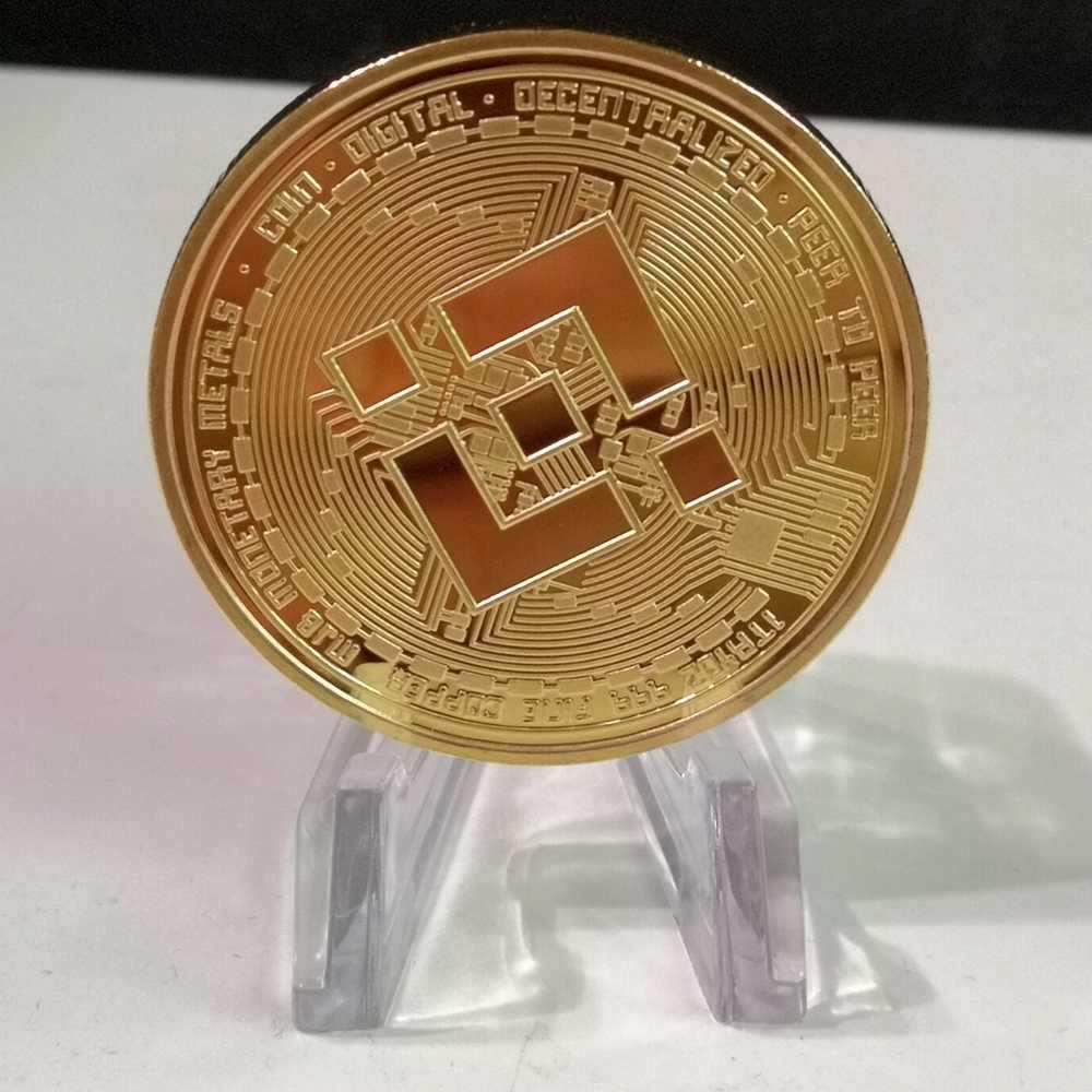 Металлическая позолоченная физическая бинтанская монета, памятные монеты, коллекционные монеты