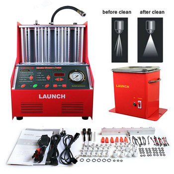Launch CNC 602A Injector Cleaner Tester Fuel Injectors Cleaning Machine Nozzles 6-cylinder CNC602A CNC-602A