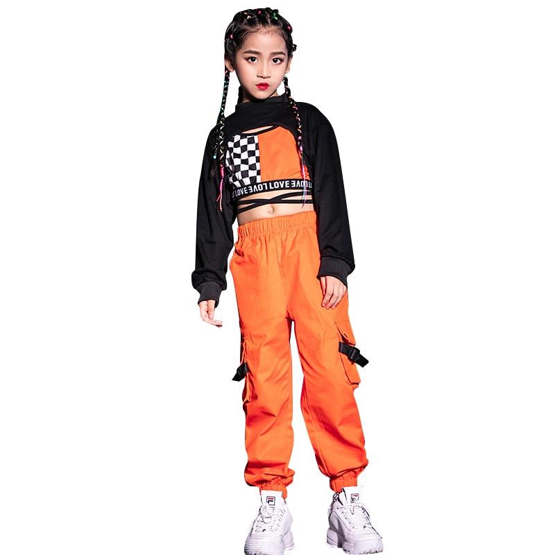 Hot Promo 477c7 , Kids Jazz Dance Costumes Girls Hip Hop