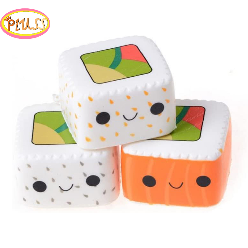 Relax Toys Sushi Scented Squeeze Slow Rising Fun Toy Relieve Stress Cure Gift Squishies Soft Scented Fascinating