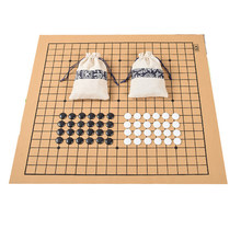 Weiqi – sac en cuir et tissu pour jeu d'échecs, 361 pièces, diamètre 2.2cm, nouvelle collection Standard