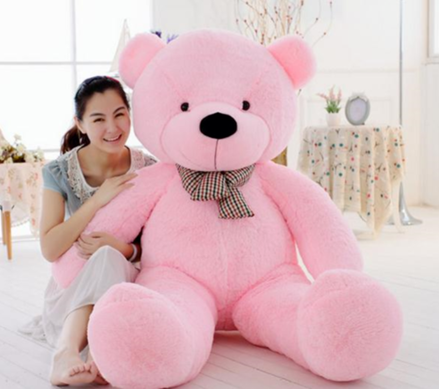 2019 Giant Hung Big larger USA Teddy Bear Plush Soft BabyToys Doll Birthday Gift