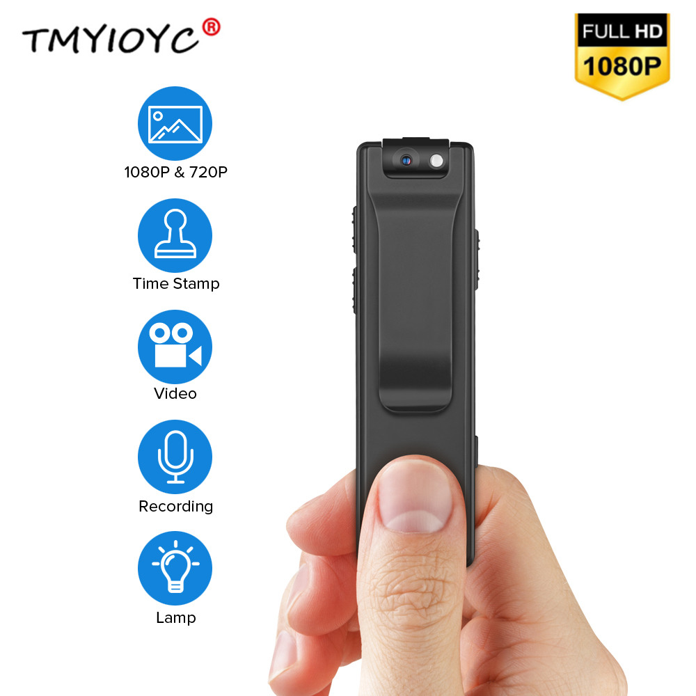 <font><b>A3</b></font> <font><b>Mini</b></font> Camcorders Voice Recorder Police Pen Camara Meeting Body Worn <font><b>Camera</b></font> 32GB Snapshot Loop Recording Motion Detection Cam image