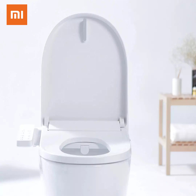 Xiaomi SmartMi IPX4 Smart Toilet Covert Seat Lid Cover Water Heated Electronic Heated Spray Closestool With Instant Heating