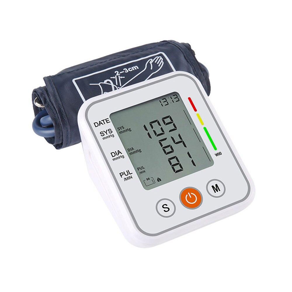 Monitor Oberen Arm Blutdruck Meter Blutdruckmessgerät Tonometer Home Health Care Blutdruck blutdruckmessgerät