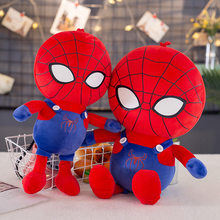 45cm Cute Stuffed Toy New Style Spider-Man Doll Children's Sleeping Pillow Doll Creative New Year Gift(China)