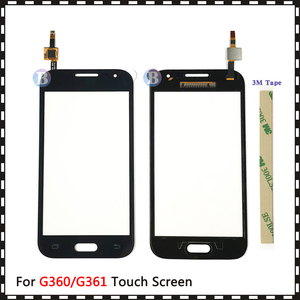 """Image 2 - 4.5 """"Voor Samsung Galaxy Duos Core Prime G360 G360H G3608 G361 G361H G361F Touch Screen Digitizer Sensor Glas Lens panel"""