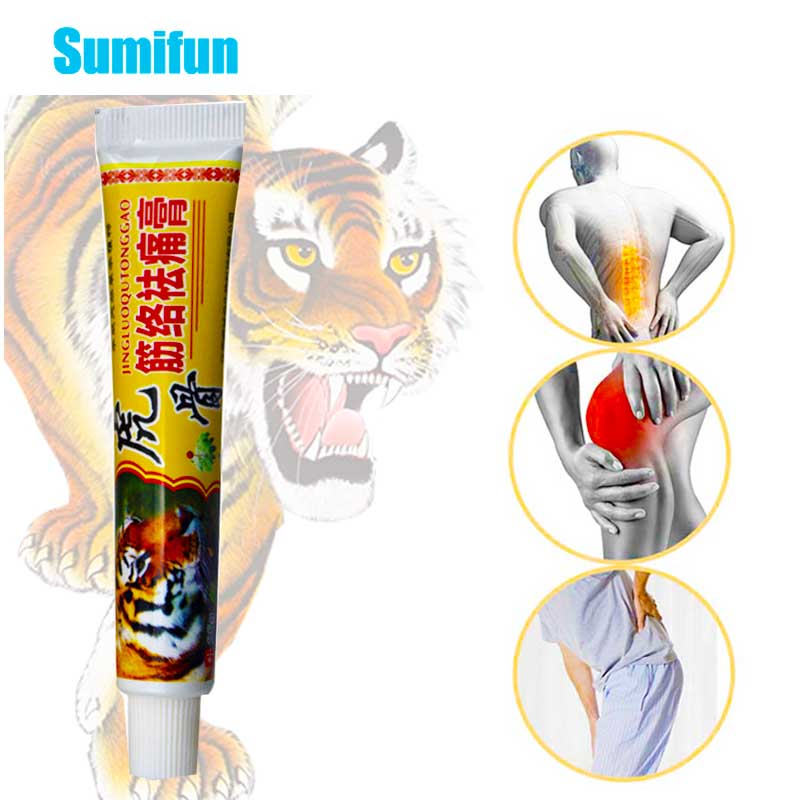 1pcs Tiger Balm Ointment For Rheumatoid Arthritis Joint Back Pain Relief Chinese Medical Plaster Analgesic Cream P1070