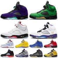 2020 JumpmanTop quality 5 Alternate Grape SE Oregon Fire Red 5 5s Air Men basketball shoes trainers designer retro sneakers