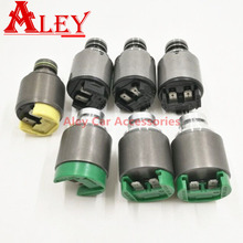5HP19 ZF5HP19 Transmission Solenoids Kit For 5-Speed 330i 325i 3/5 Series Z4 Roadster For A4 A6 Passat For Prosche Used 7PCS