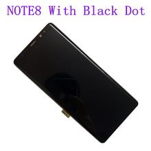 ORIGINAL AMOLED Display LCD for SAMSUNG NOTE8 LCD N950U N950A N950F Touch Screen Digitizer Assembly With Black Dot