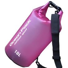 10L Swimming Bags Waterproof Dry Bag Bucket Sack Storage Shoulder Bag Rafting Handbag Outdoor Kayaking Canoeing Travel Barrel стоимость