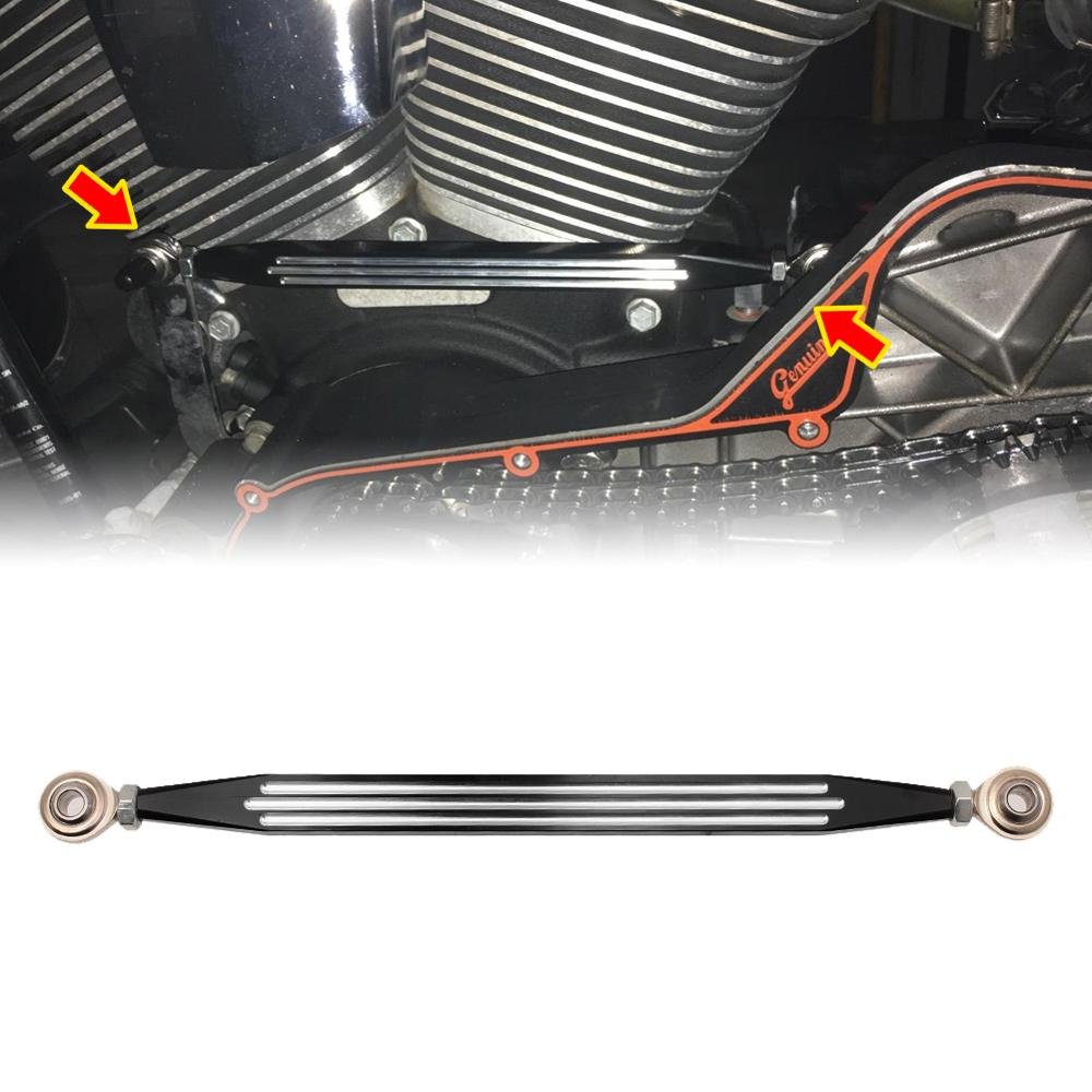 Edge-Cutting CNC Heel Toe Shift Levers Shifter Pegs CNC Billet Shift Linkage Compatible with Harley Touring Road King Electra Glide 1988-2017