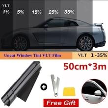 Glass-Sticker Films Window Sun-Shade-Film Uv-Protector Percent for Car 1-Roll 50cm-X-3m