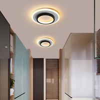 New Acrylic Square lamp chandeliers For hallway Balcony corridor Home AC85 265V Modern Led Chandelier Lamp Fixtures