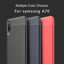 PhoneCase For Samsung Galaxy Note 10 Cover Luxury Litchi Leather Grained Bumper A70 Case Shockproof
