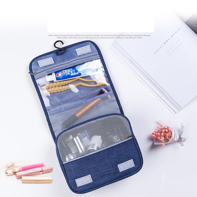 High Quality Unisex Makeup Travel Bag Cosmetic Bag Women Cosmetic Storage Bag Waterproof Hanging Bathroom Washing Bag