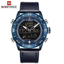 2019 New CURREN Leather Strap Fashion Quartz Electronic Watch Mens Top Brand Luxury Waterproof Clock Relogio Masculino